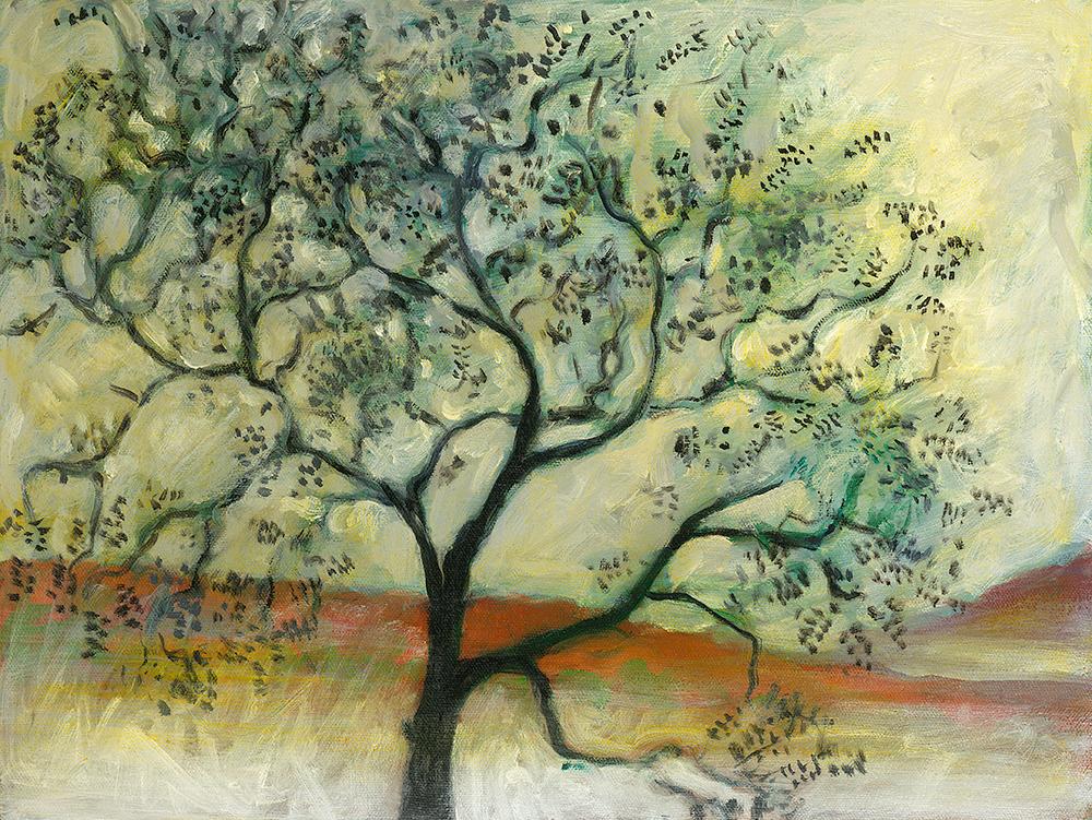 Black Walnut  oil on canvas 12 x 10