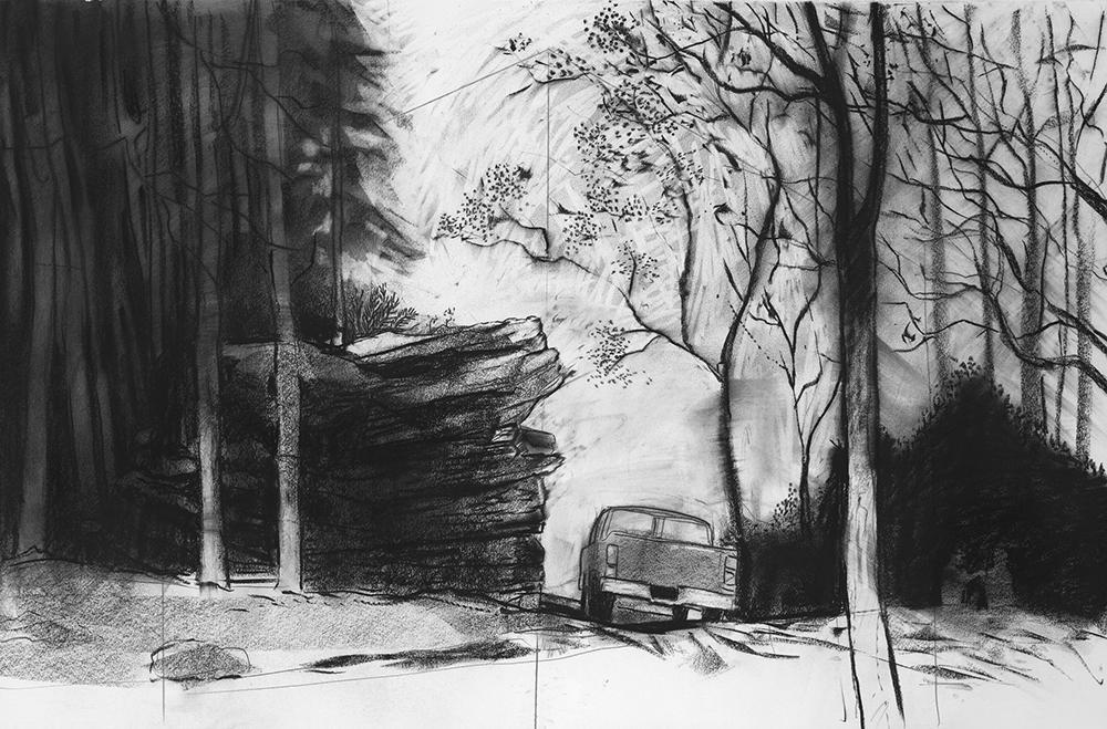 Pickup by Furnace Run  30 x 44