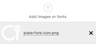 icon show in Manage Custom Files