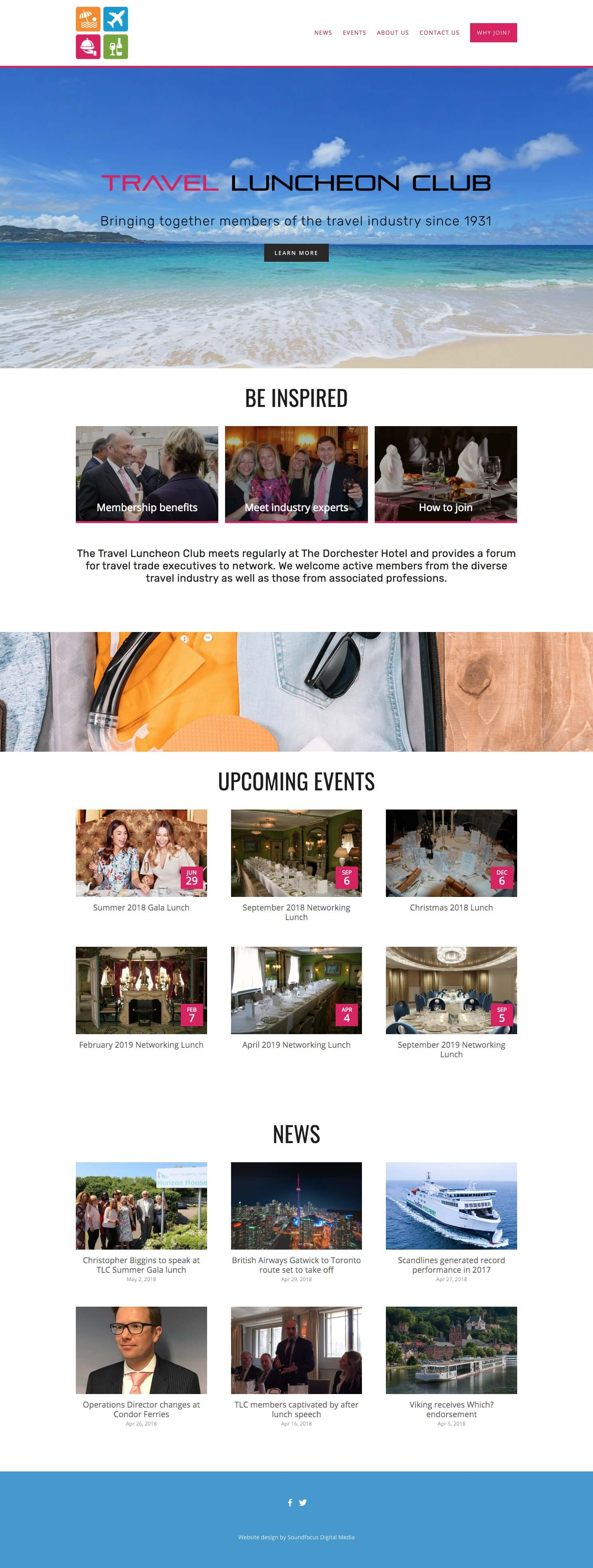 Example responsive website page from their website