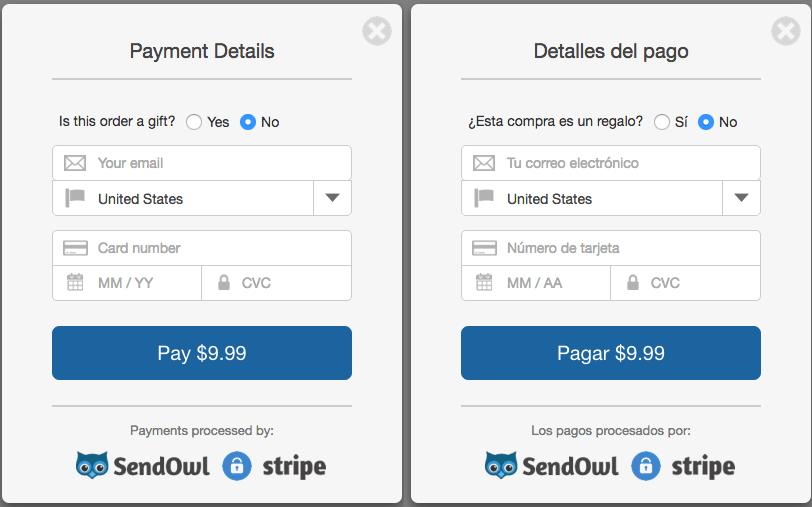 Automatic Checkout Language Selection