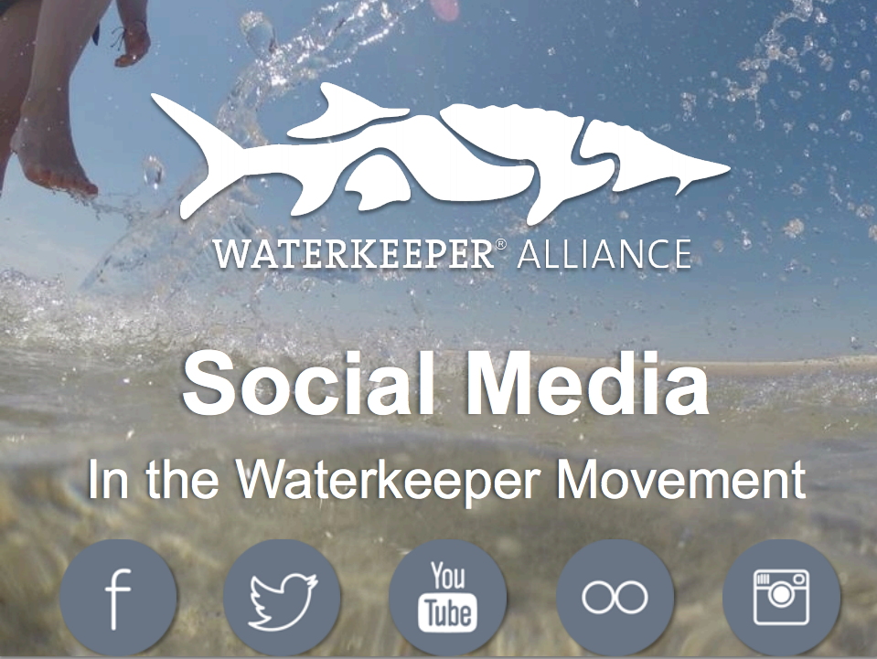 I manage the social media for a grassroots, environmental organization focused on protecting and cleaning up waterways around the world. Sometimes I share my love for online advocacy with the Waterkeeper movement. This is a webinar where I talk about social media. The title maybe should have been #youthinkyourecoolcuzyoureonsocialmediabutyourenot     >>     Check out a recording of the webinar here.