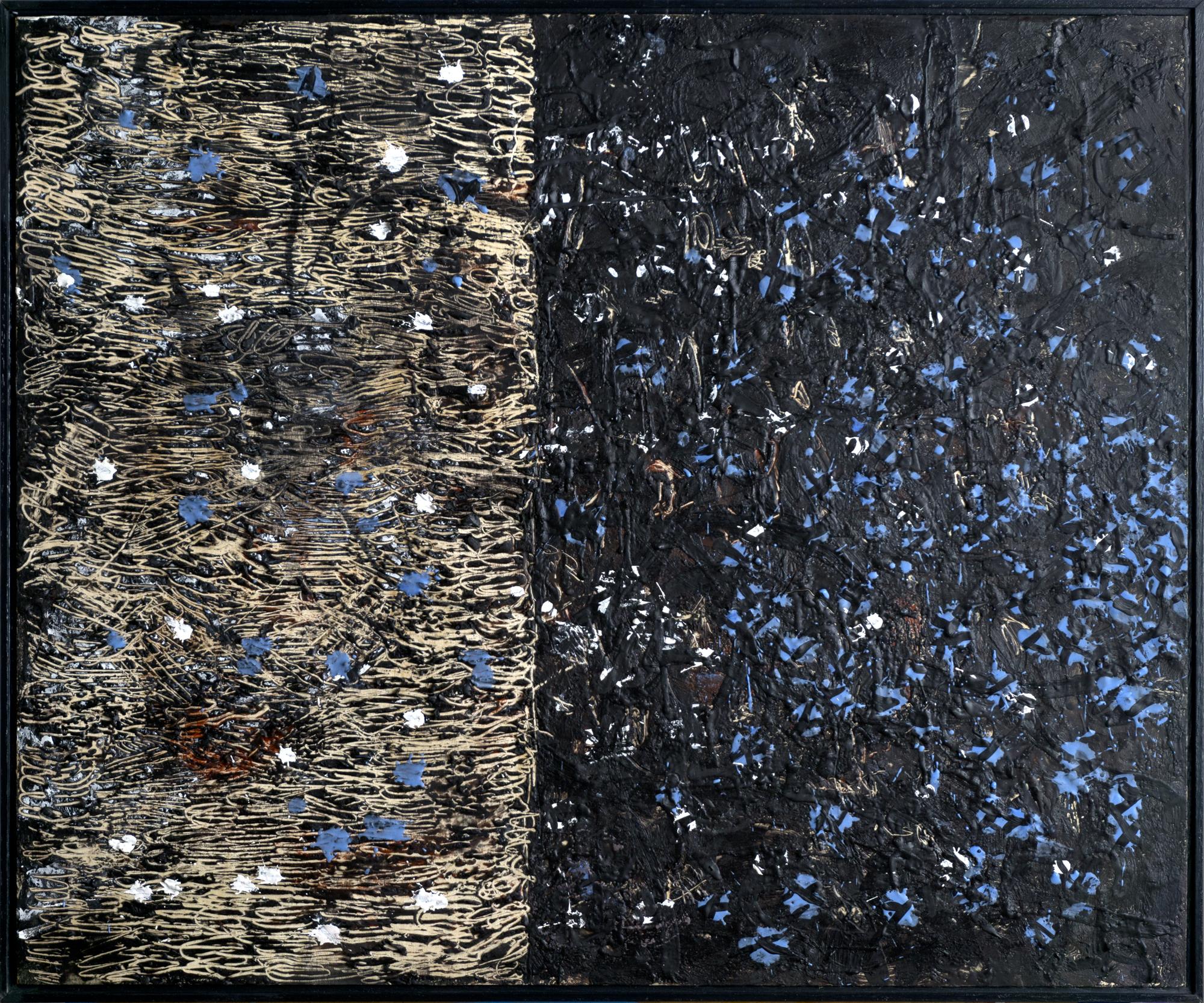 Chrissy's Black Painting
