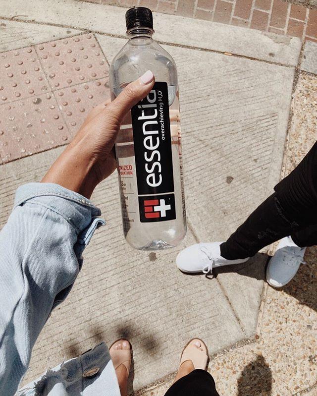 take walks. drink water.