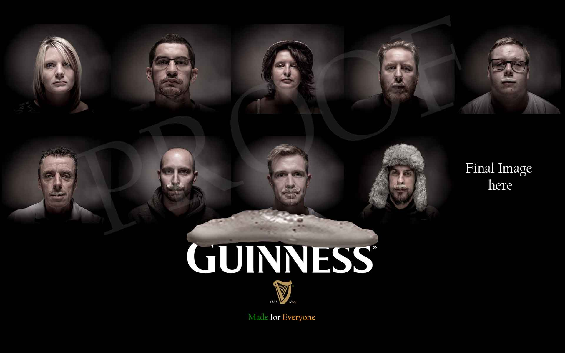 Guinness Advert Paul Hands Commercial Photography Hinckley Leicestershire Midlands