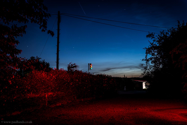 Paul Hands Photography, Night Landscape, Clock Tower Tea Room, Hartshill, Leicestershire, Warwickshire, Europe, England, UK