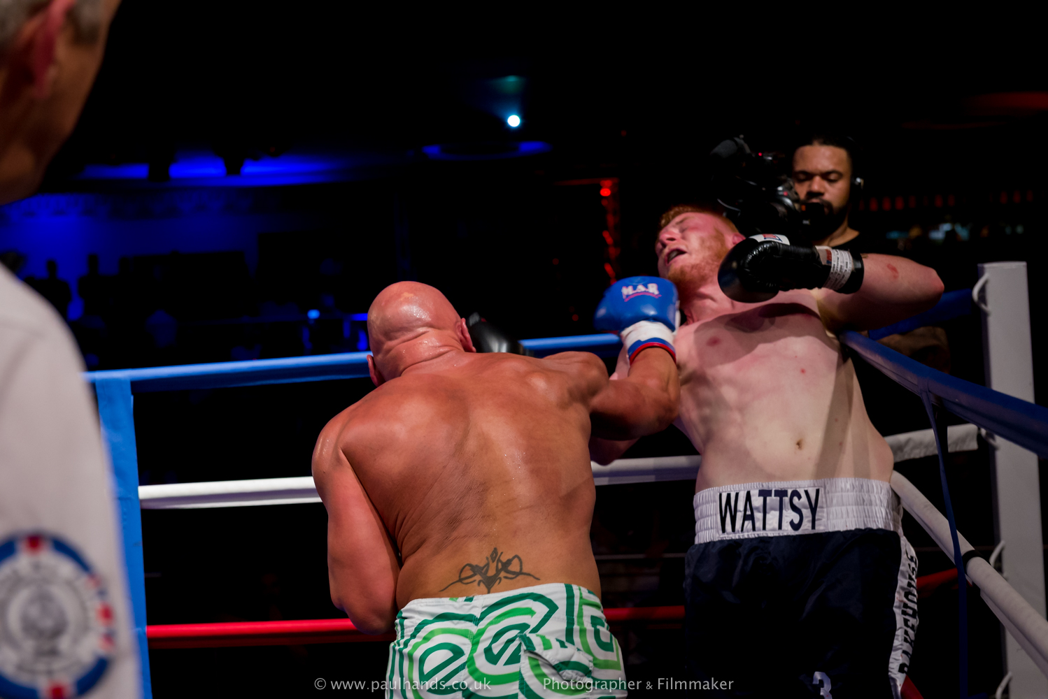 Paul Webb Vs Jake Watts
