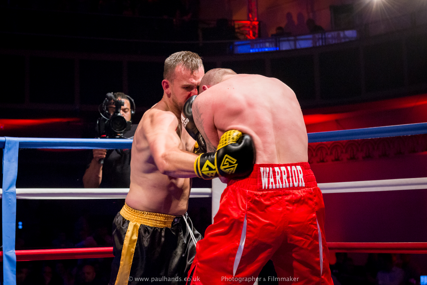 Dave Waring Vs Shane Ward