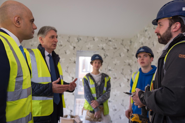 Sajid Javid, Phillip Hammond, Three Apprentices