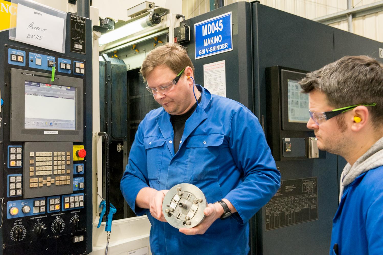 Employees at JJ Churchill Aerospace Engineering Ltd.