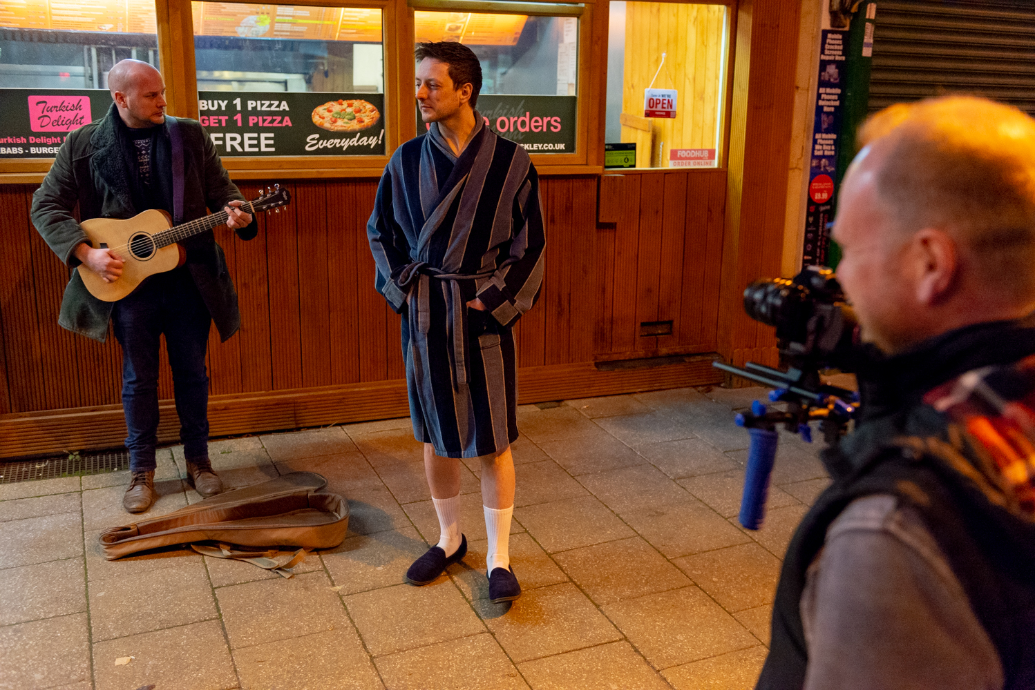 Blokes Comedy Film - Behind The Scenes