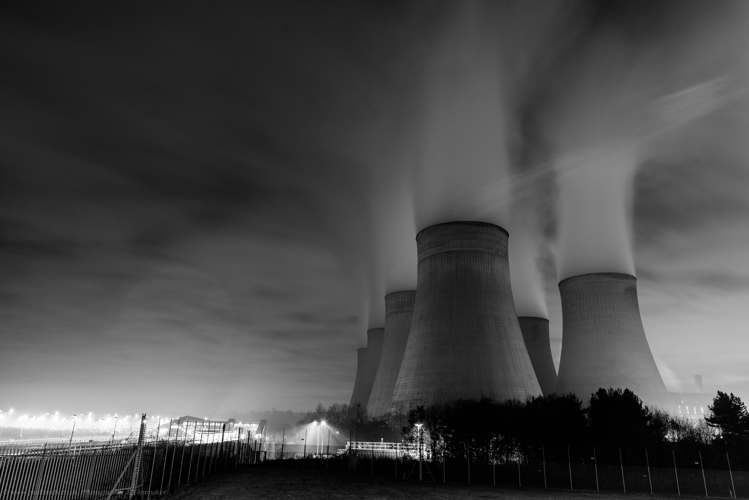 Ratcliffe On Soar Power Station. I made this while on the way home from photographing a family day with SSAFA (The Armed Forces Charity).  This is the kind of image that I'll be including in with my personal practice from now on.