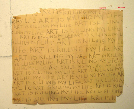 Art is Killing My Life 2004