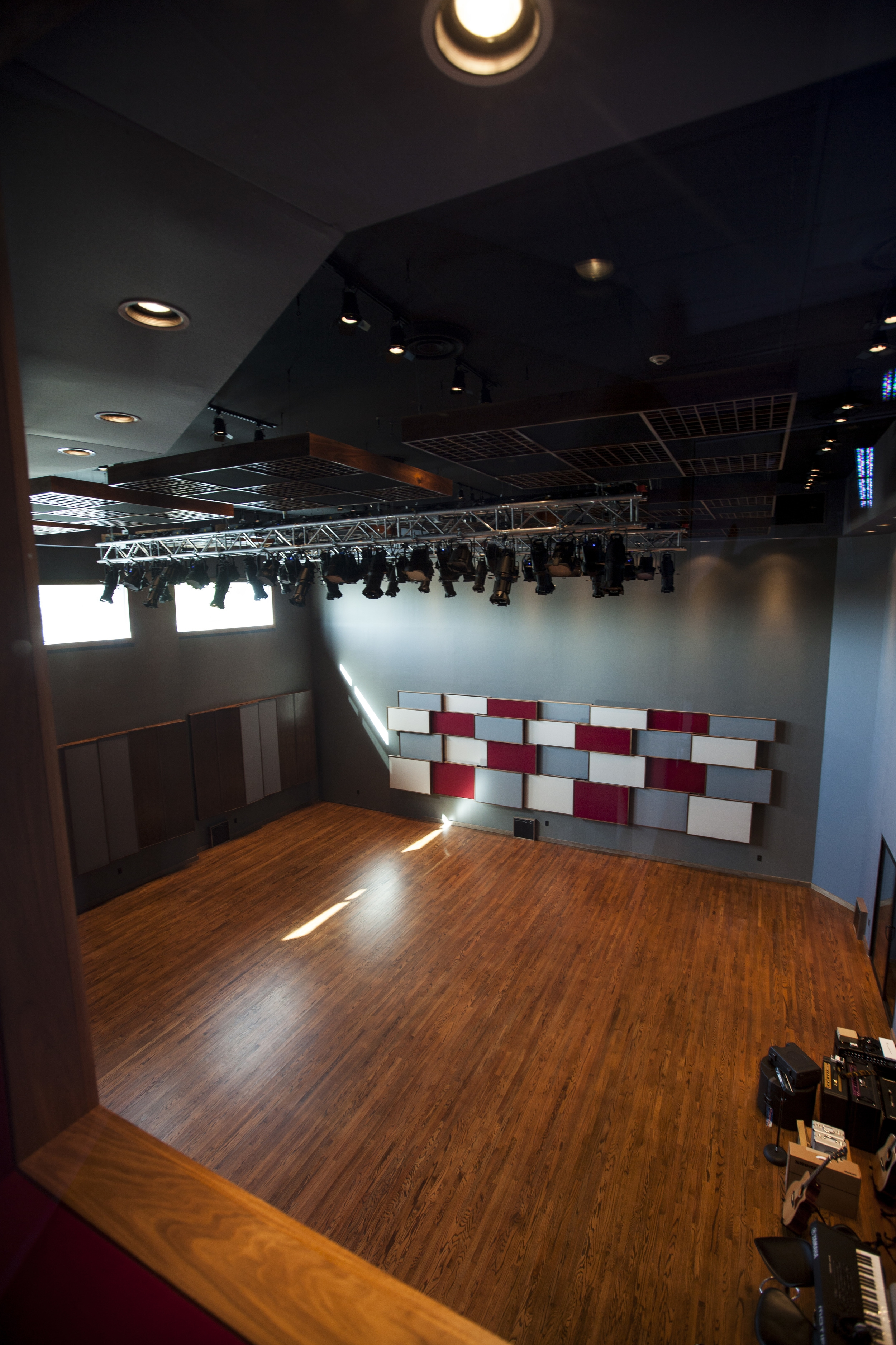 Tracking Room Aerial View