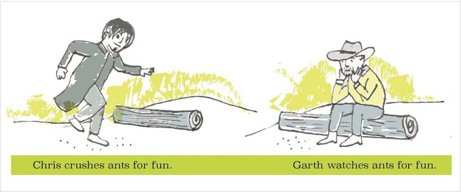 Chris and Garth comic