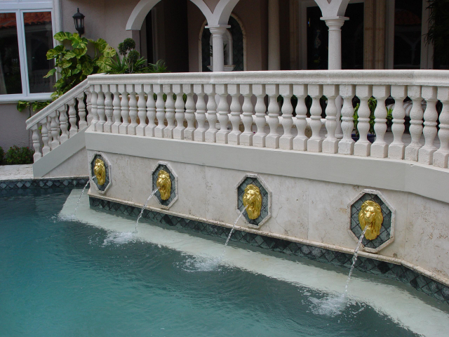 outdoor 24ct gold leaf exterior wet application