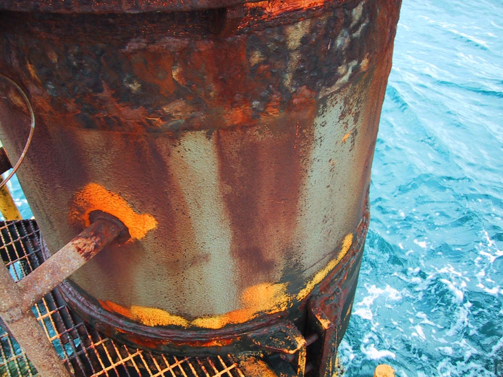 Level Inspection Corrosion