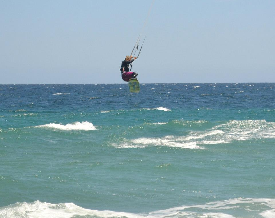 Kiting in Baja, Mexico