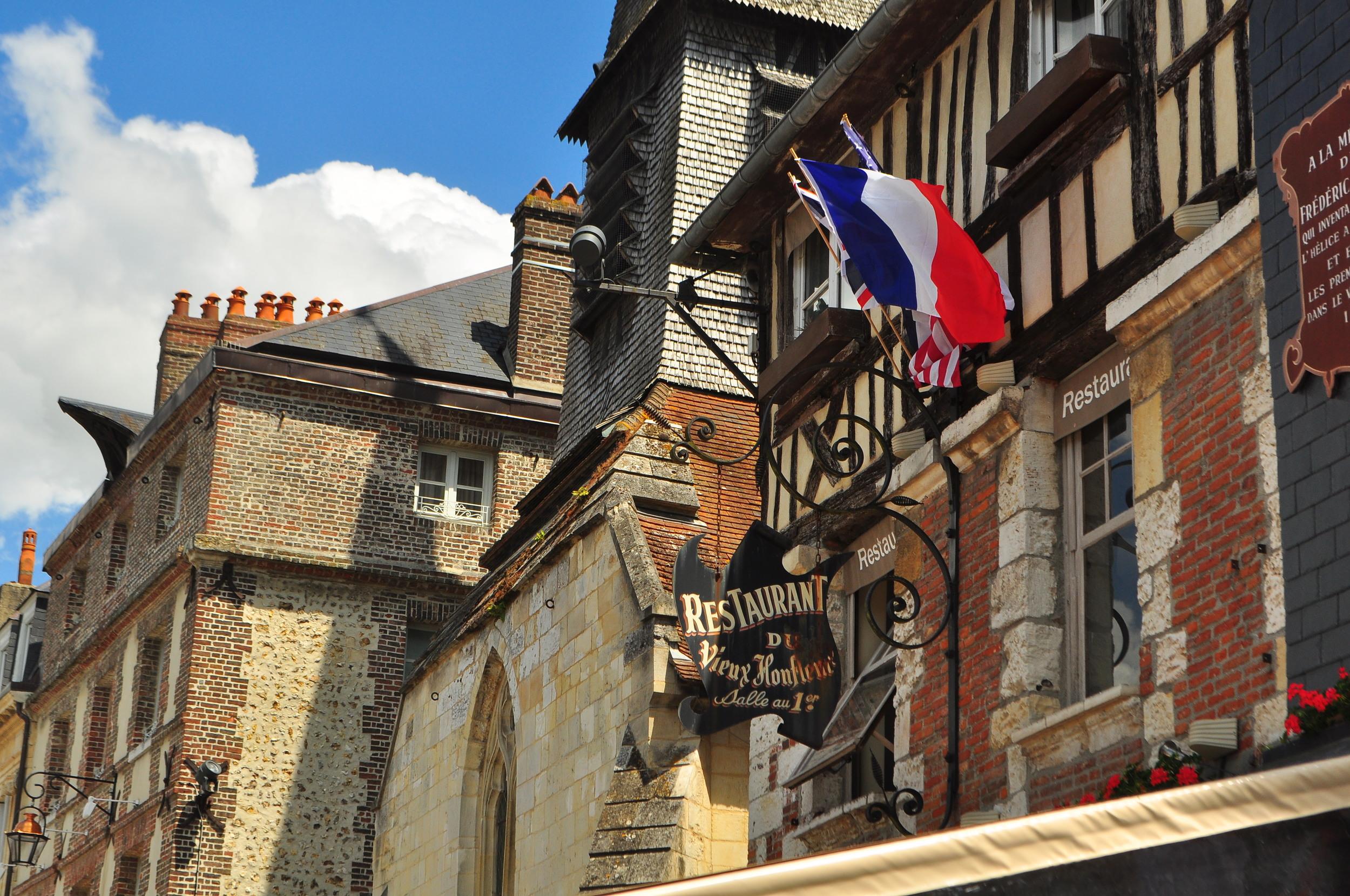 Honfleur, France - birthplace of Impressionism