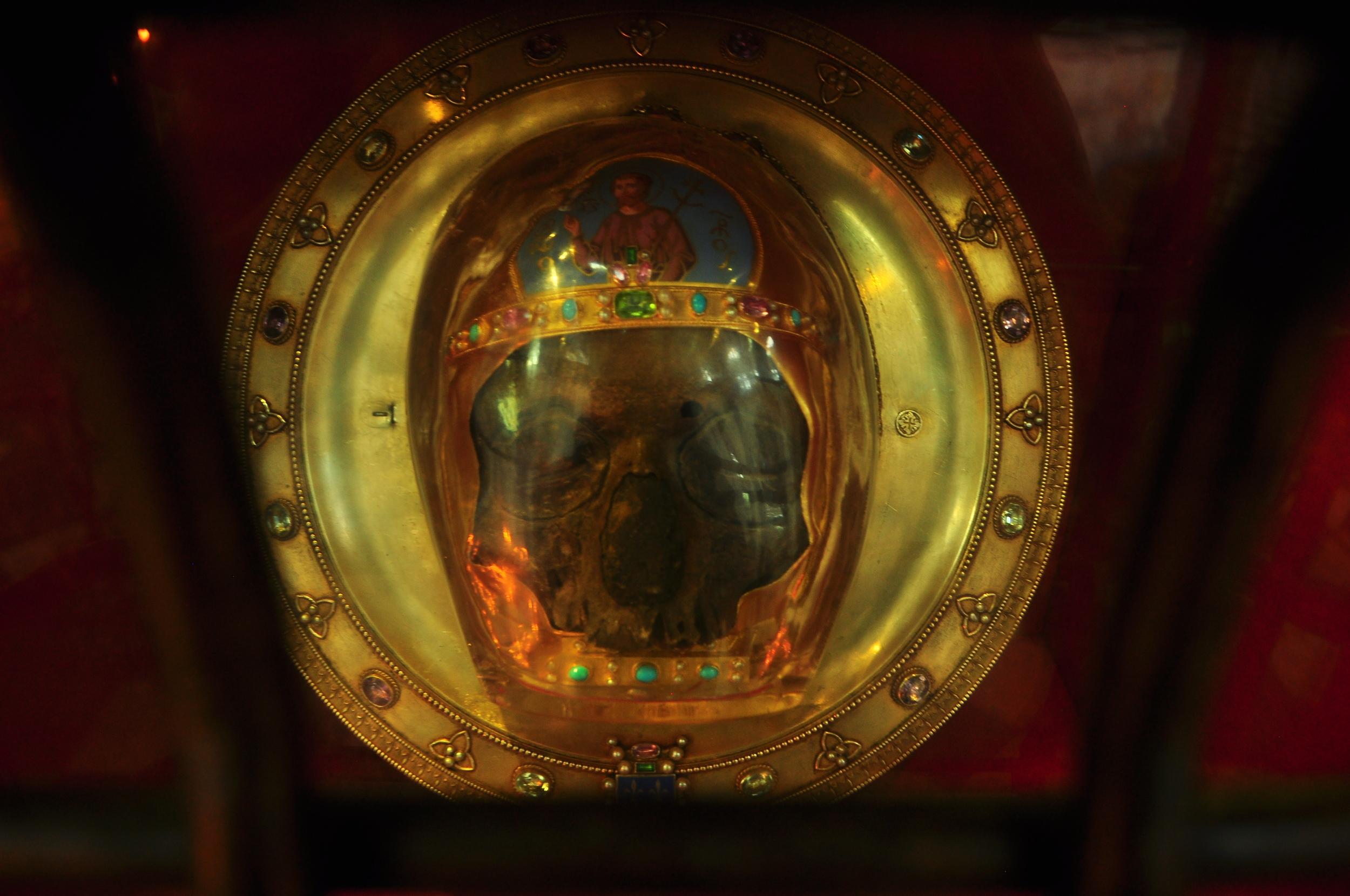 """""""skull of John the Baptist"""""""