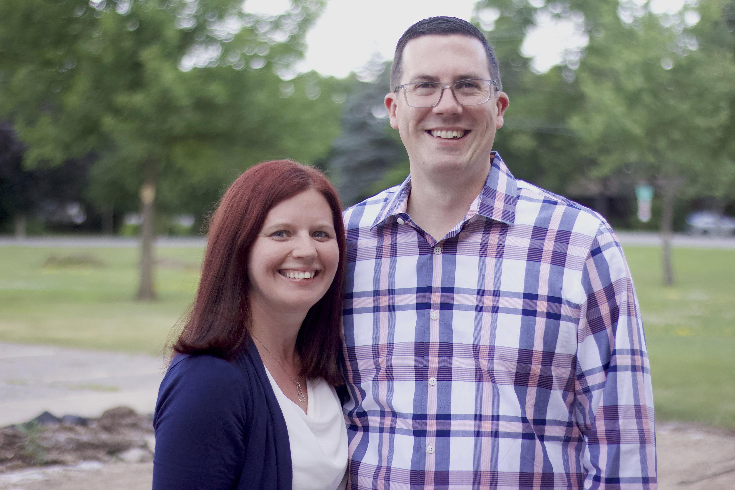 Dave Oler  Lead Pastor   Melissa Oler  Ministry Development Pastor