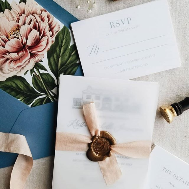 love-fern-design-studio-custom-wedding-invitations-for-the-modern-couple-modern-calligraphy-in-seattle-washington-custom-wedding-stationery-french-country-wedding-invitations-with-wax-seal-and-floral-envelope-liner