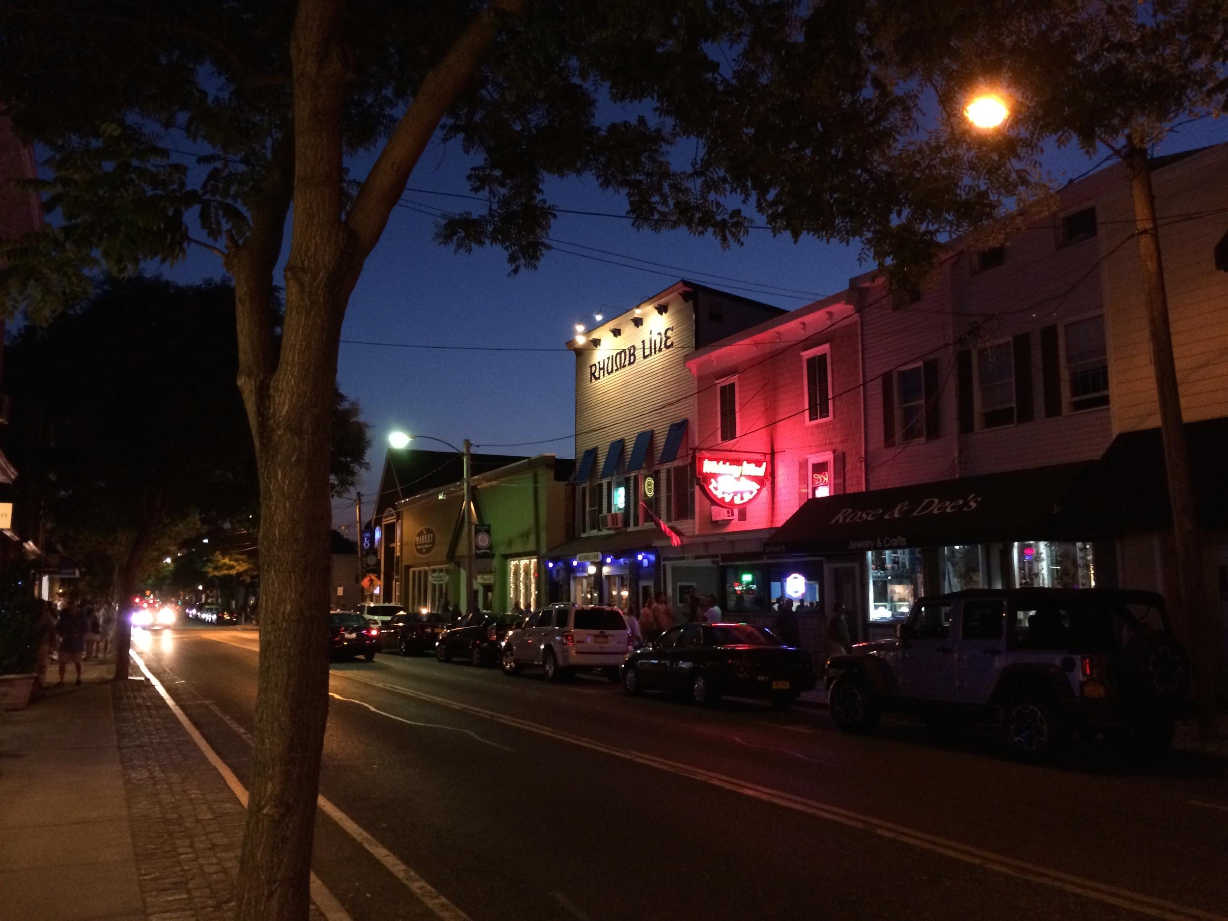 Main Street, Greenport, NY.