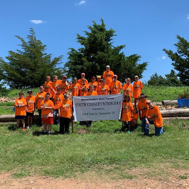 Youth conservation event part two! Planting pollinator plots, fishing, nature talks. Whether it's helping catch a first fish or teaching the value of the outdoors, or just getting them interested is key to securing the next generation of conservation! Thank you again to the Homesteaders @quail_forever chapter for being such great hosts! #neature #wildlifeconservation