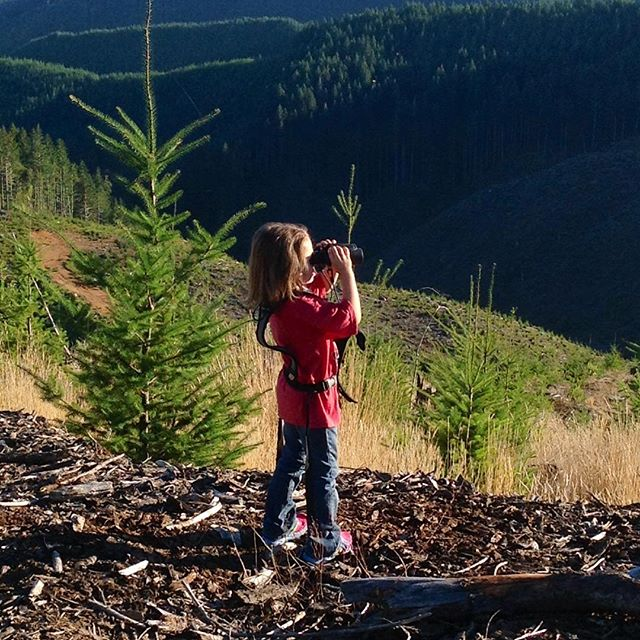 """Learned from papa to """"binoc those canyons"""", eat those sunflower seeds and spot those deer. #deerhunting #riflehunting #huntinggear #callcaddy"""