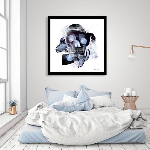 """Skull Abstract"" Fine Art Print"