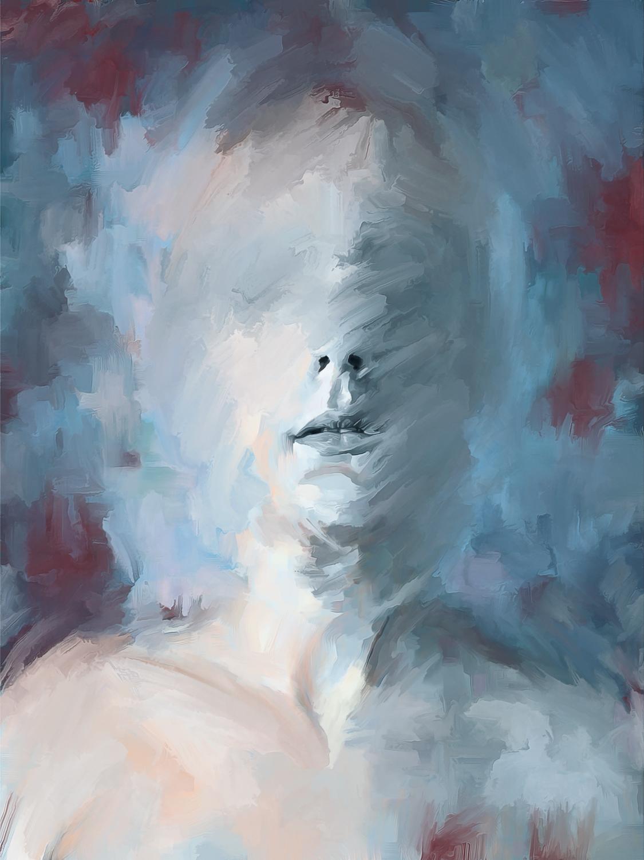 Head in Blue 3