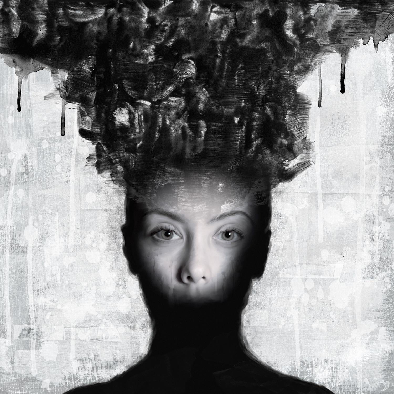 Head in Black