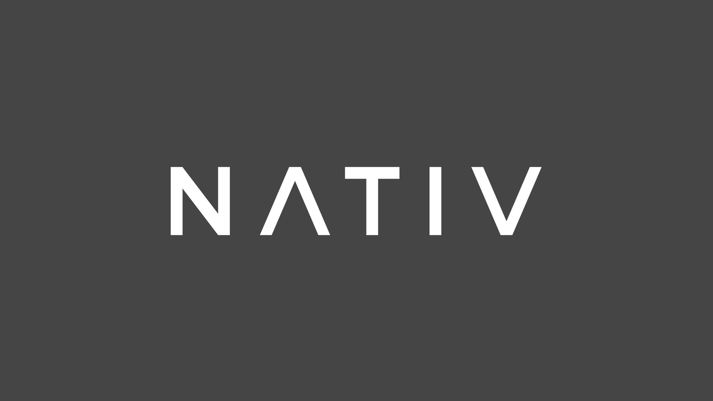 NATIV    Brand and Identity