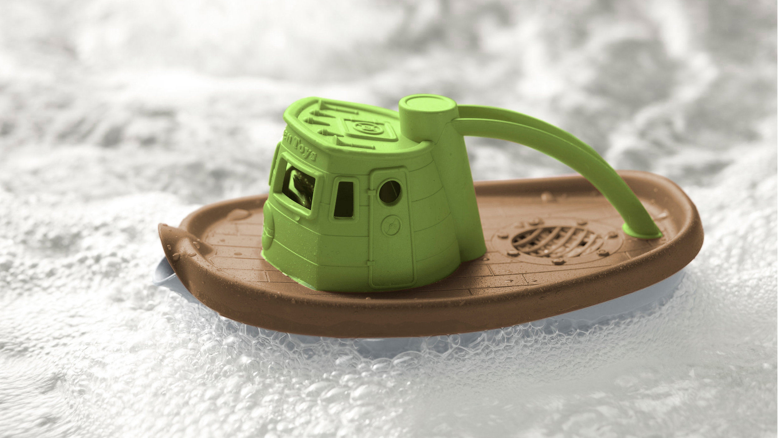 GREEN TOYS    milk jugs into meaning