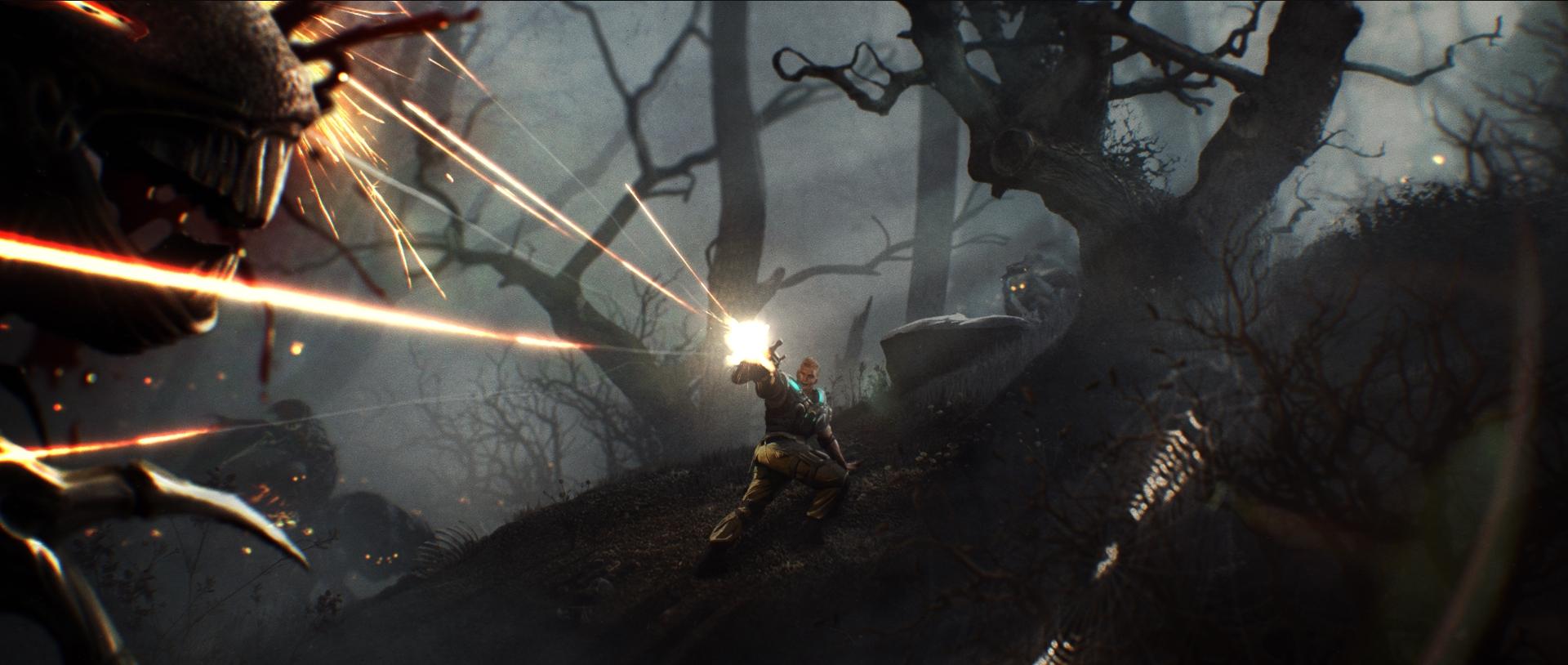 Gears of War - Launch Trailer Pitch   Key Art
