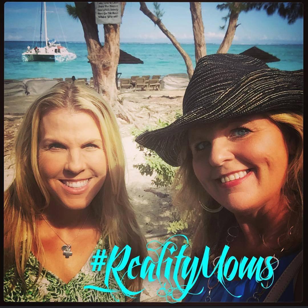 Cindy Simmons & I at Beaches Turks & Caicos