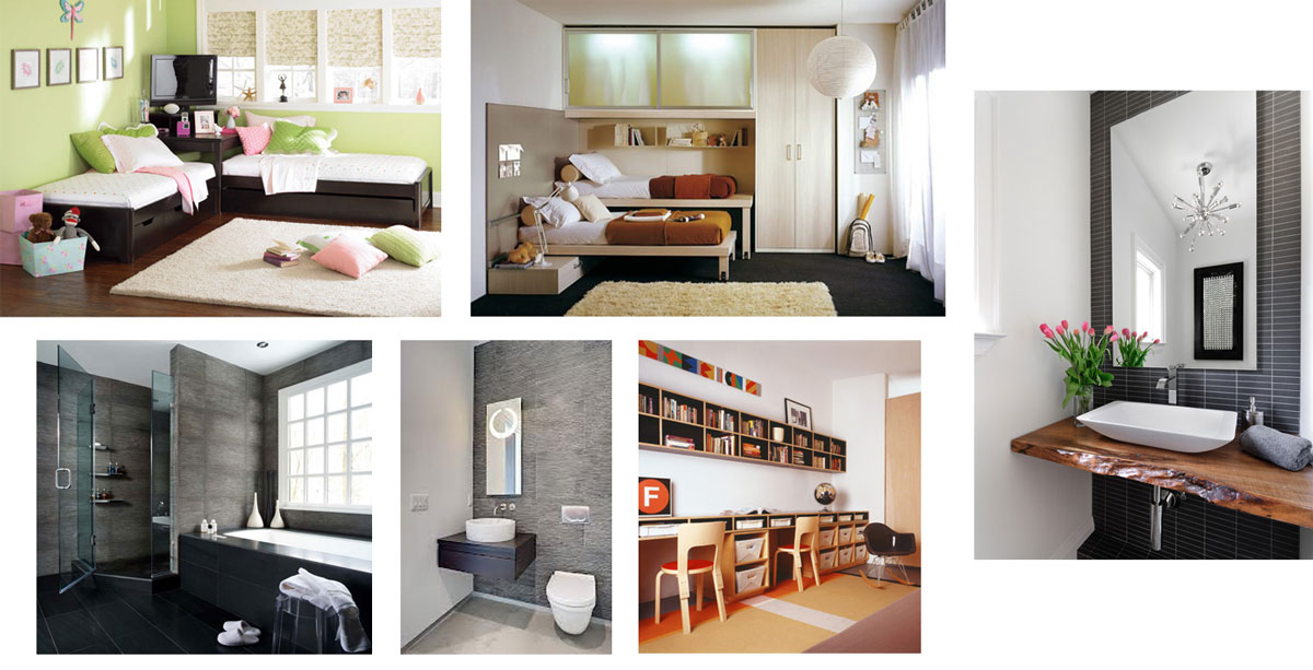 Examples of Potential Space Design