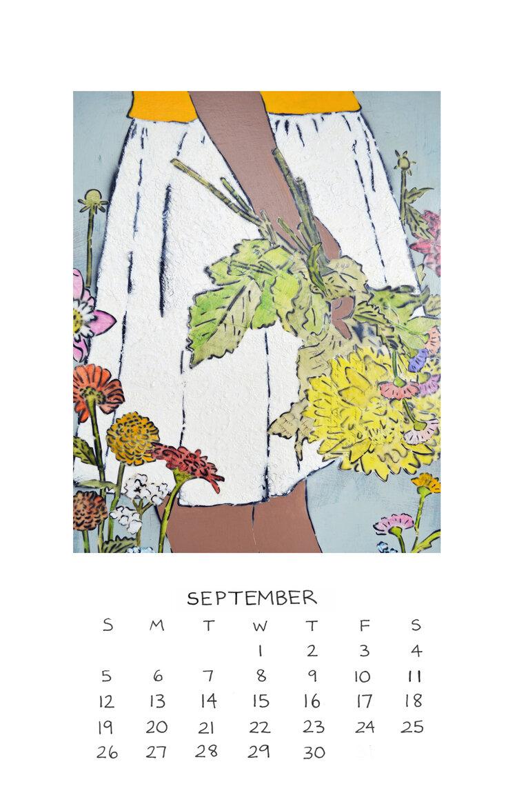 Amy Rice Art 2021 CalendarIN STOCK! Limited Quantities