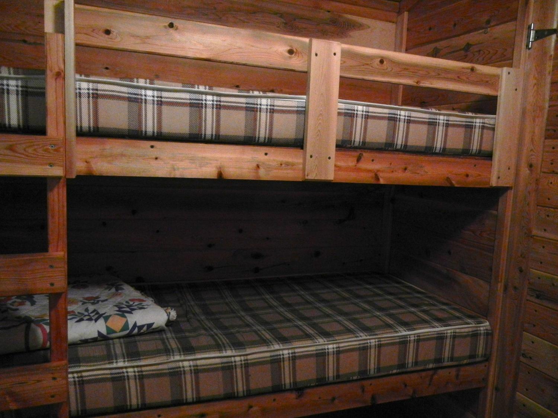 Cabin #5 Bunk Beds