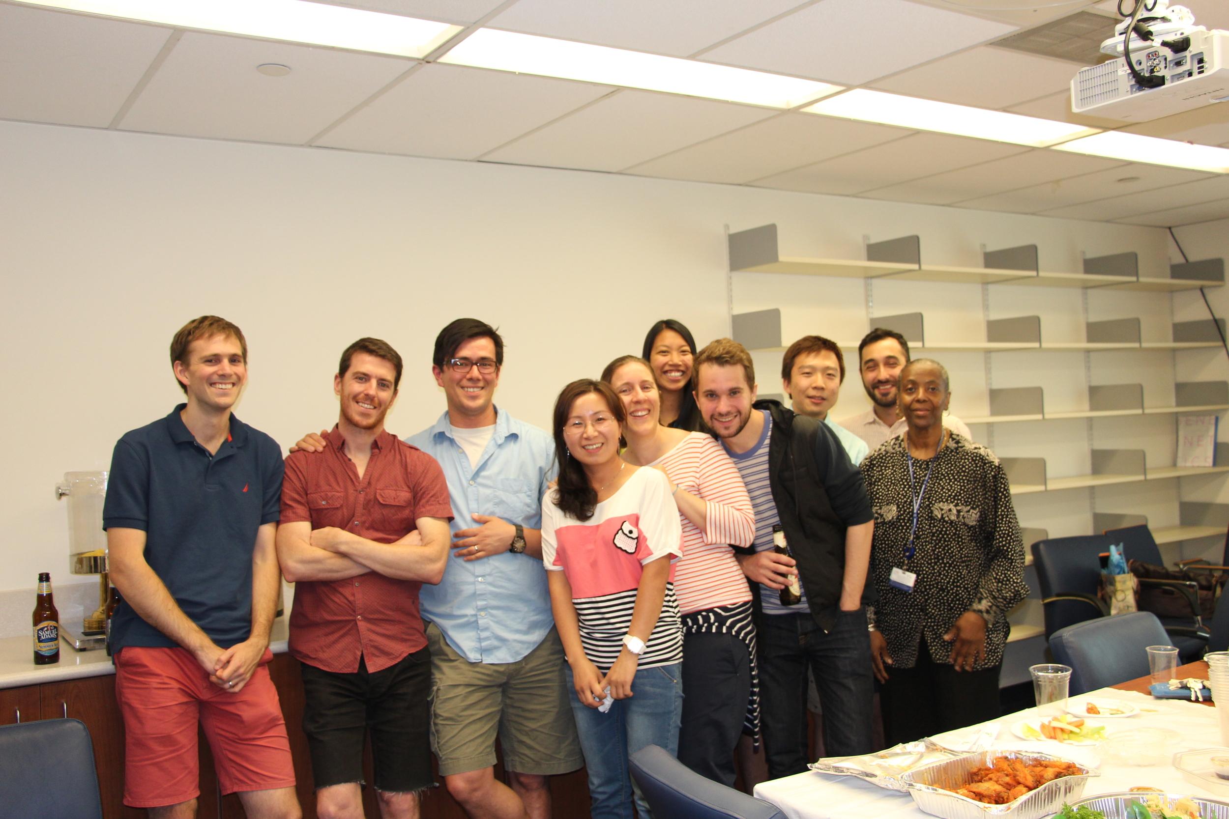 Good-bye Lai lab!