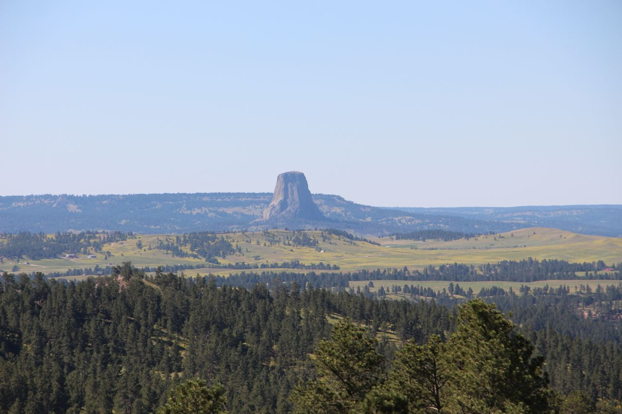 Devil's Tower. This is as close as we got.