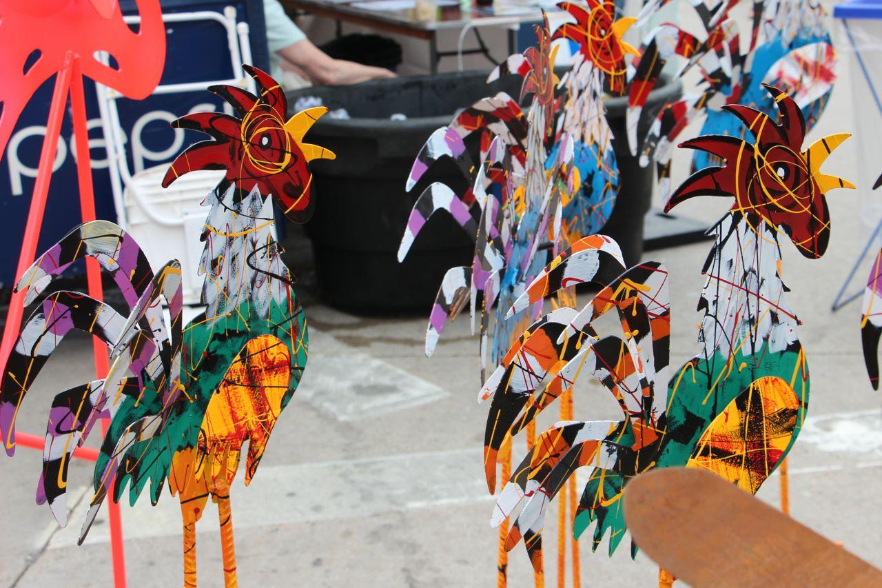 Street Art fair. Madison, WI