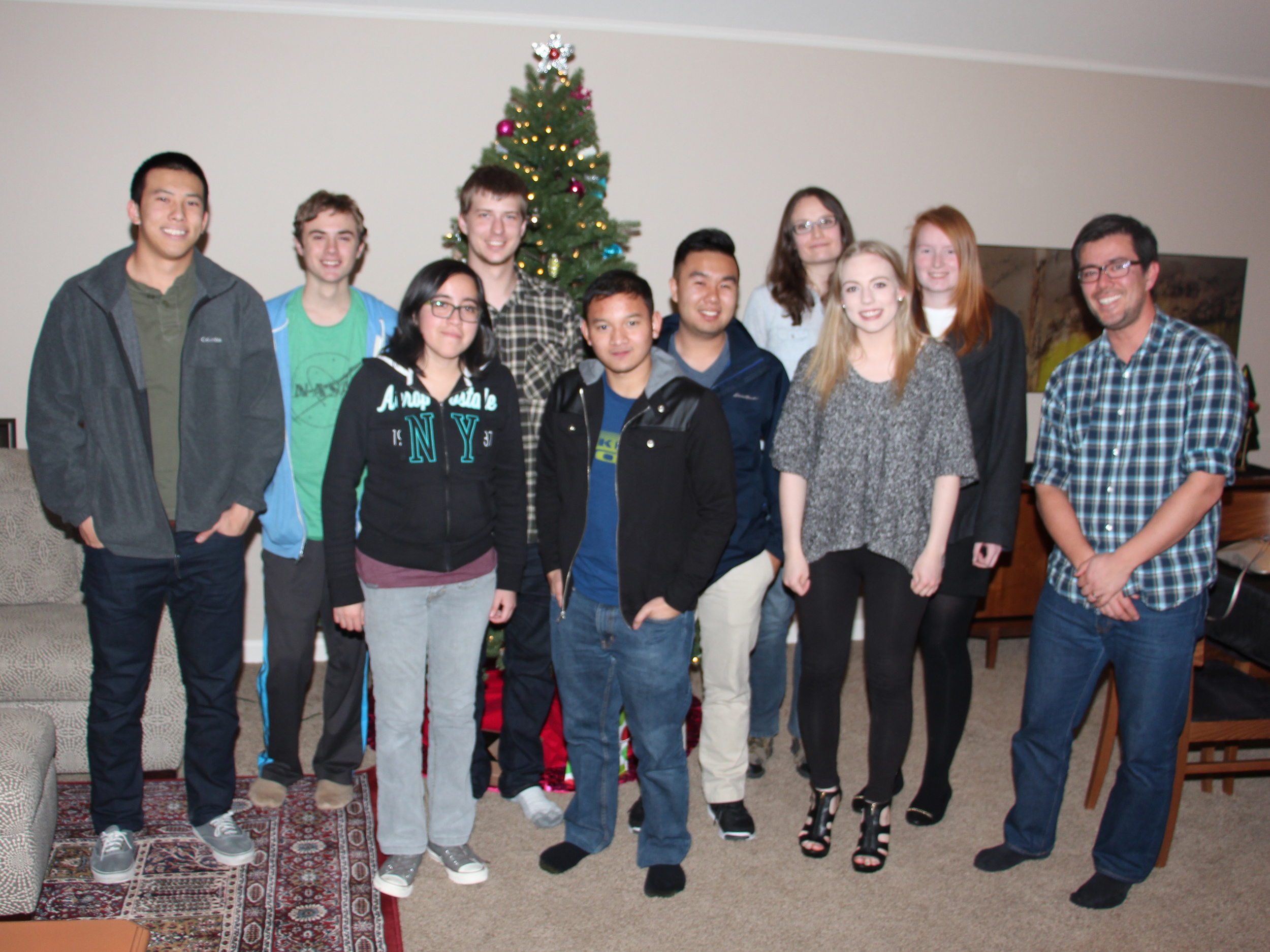 Winter holiday party 2015