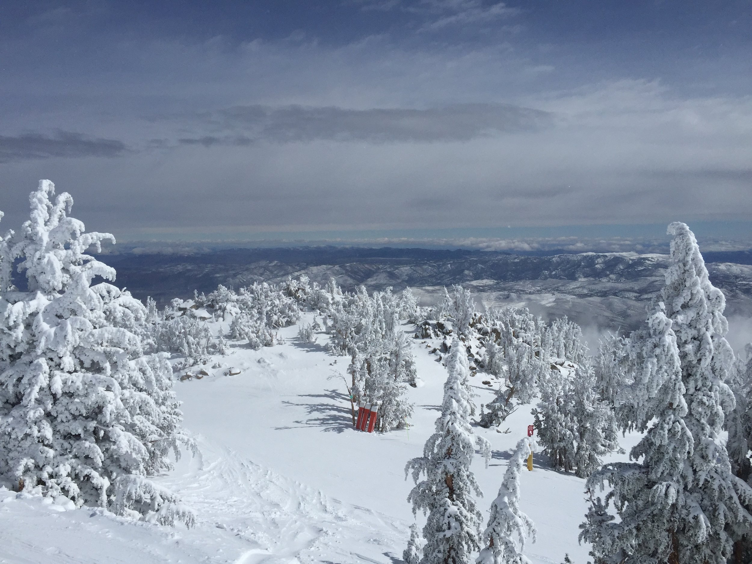 Mt. Rose. Top class skiing just a 40 minute drive from the lab.