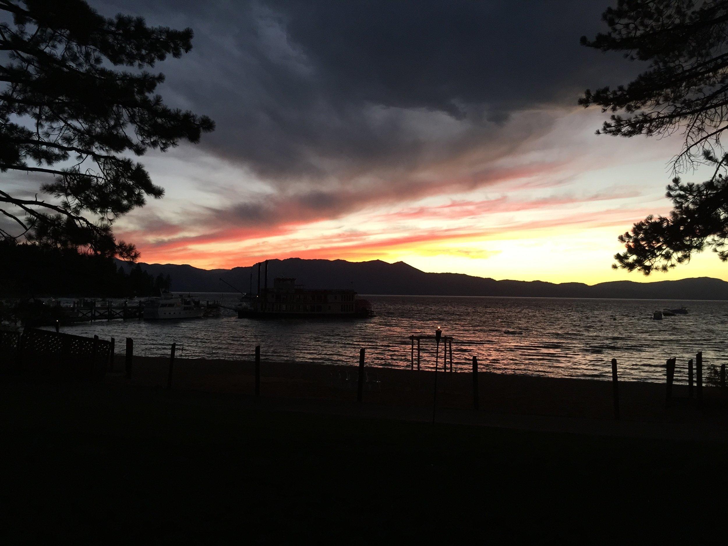 Lake Tahoe at Zephyr Cove