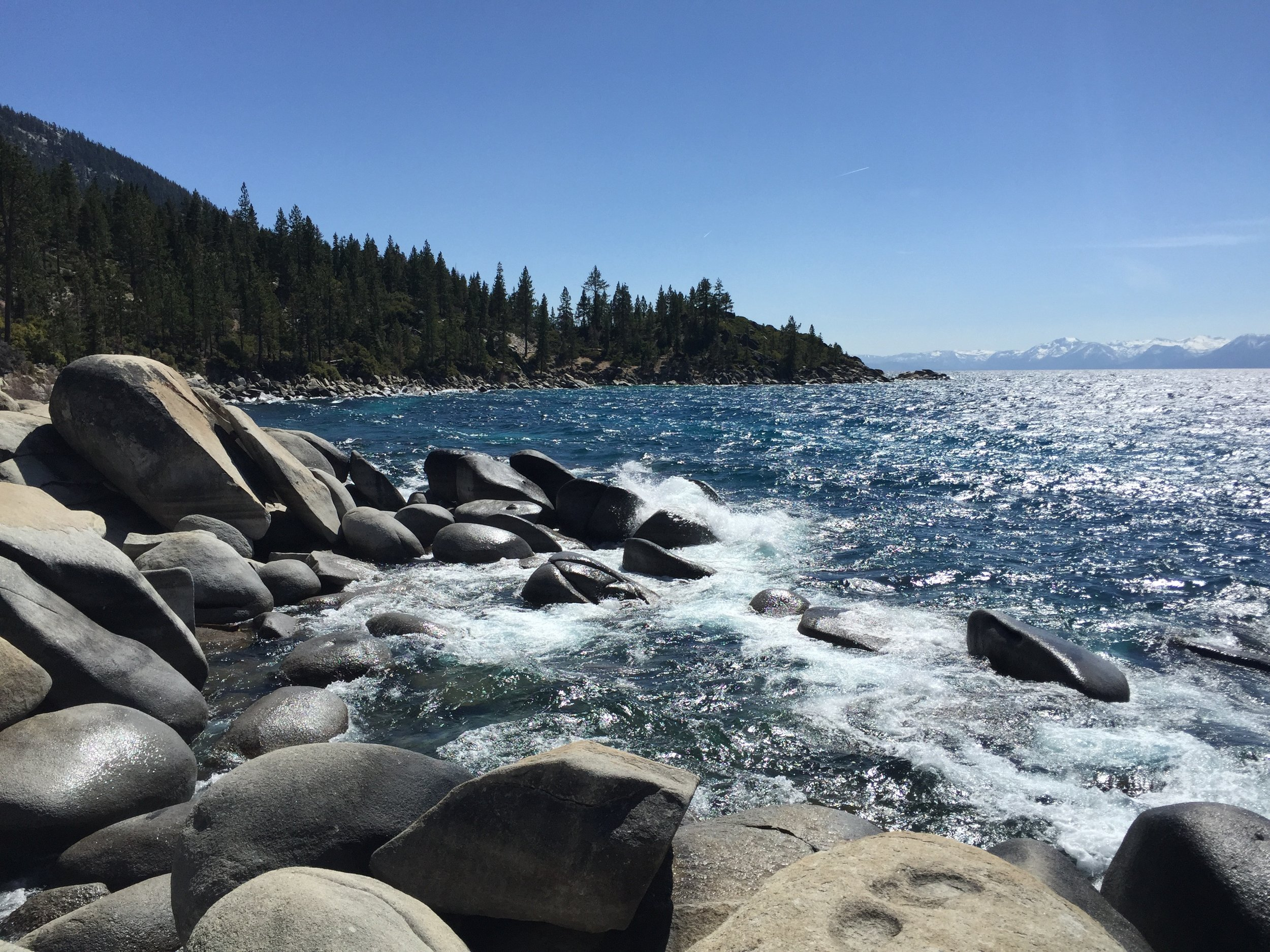 Lae Tahoe- Less than an hour drive from lab.
