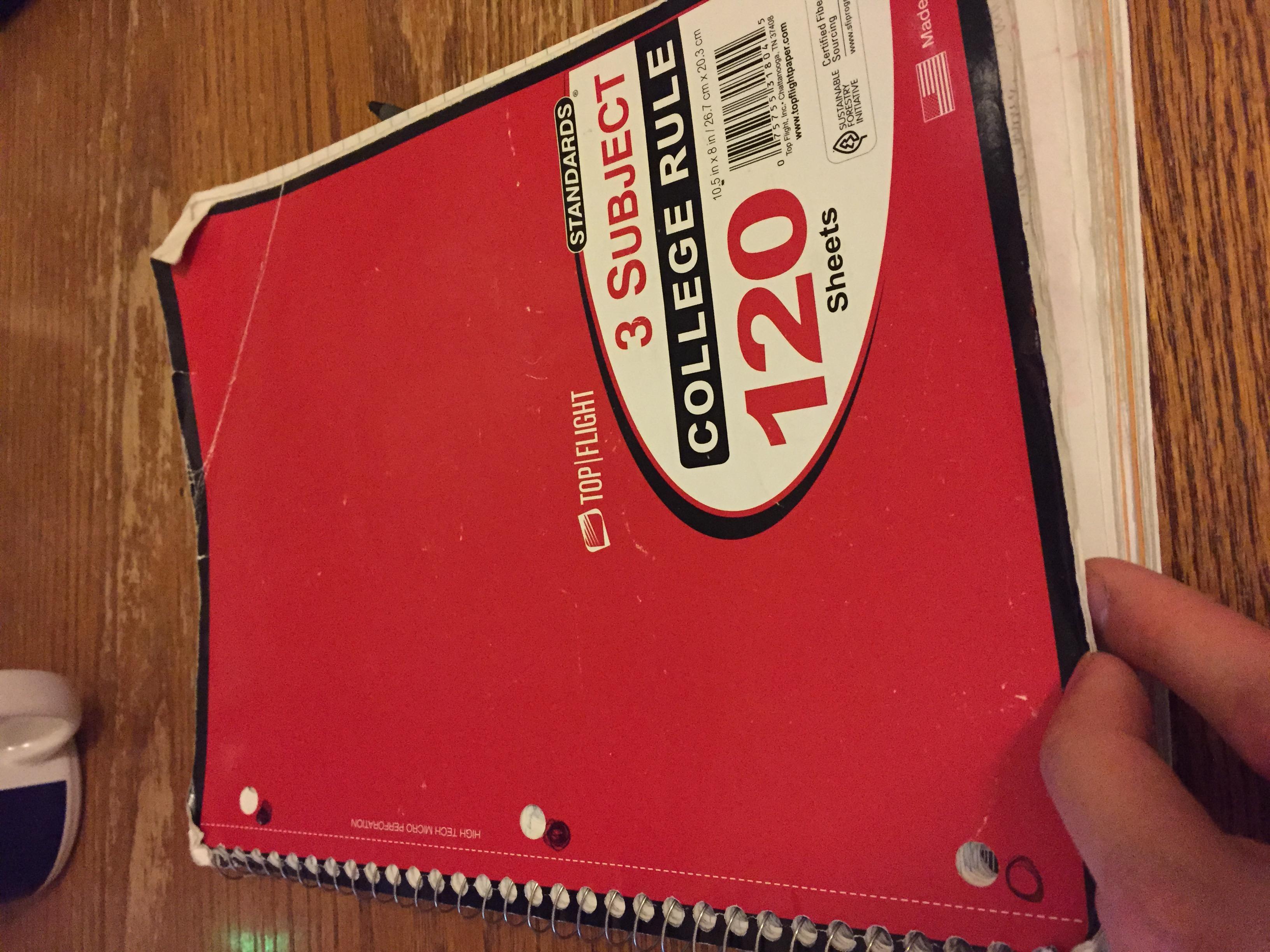nicolas cole notebook