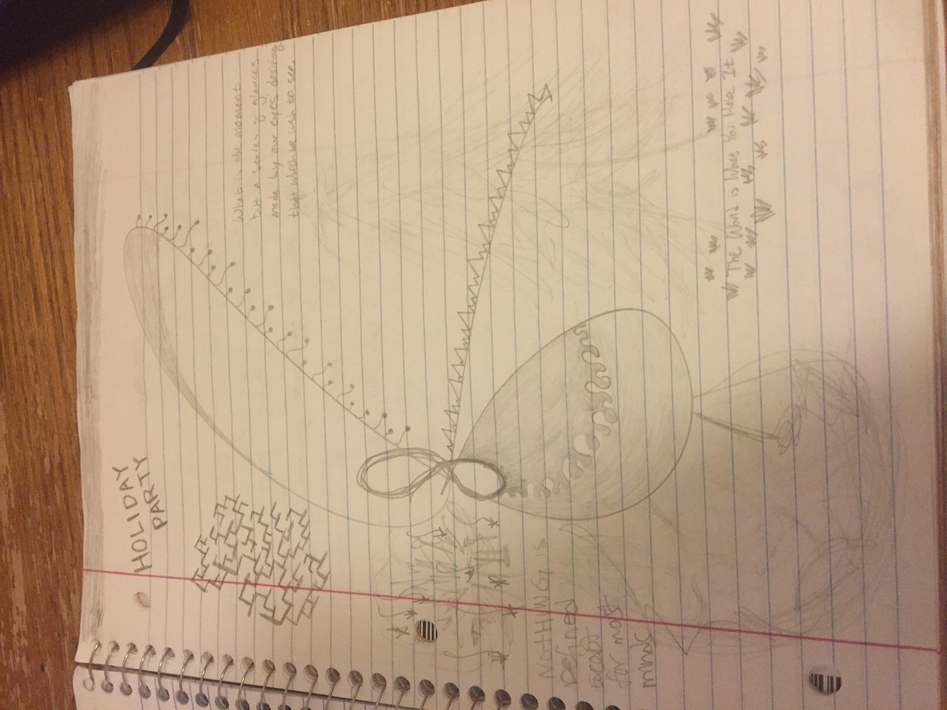 nicolas cole notebook drawing