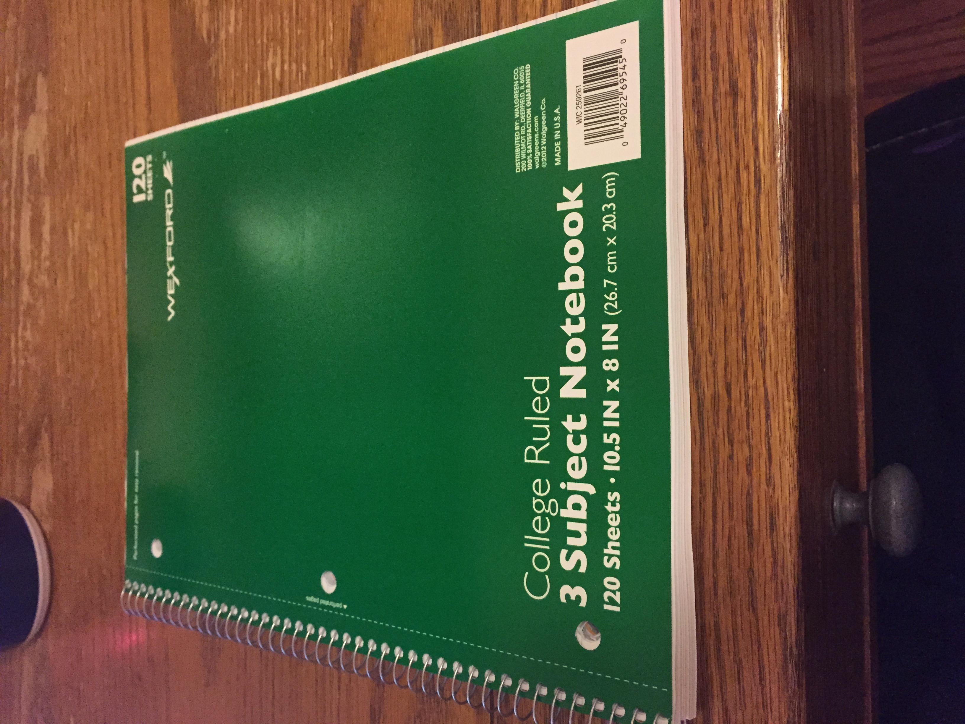 nicolas cole new notebook