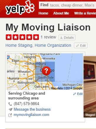 First 5 star review on Yelp!